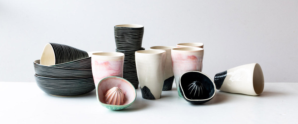 Aline Bertin - Stark, Simple & Bold Contemporary Ceramics