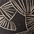 Black Fan Pattern