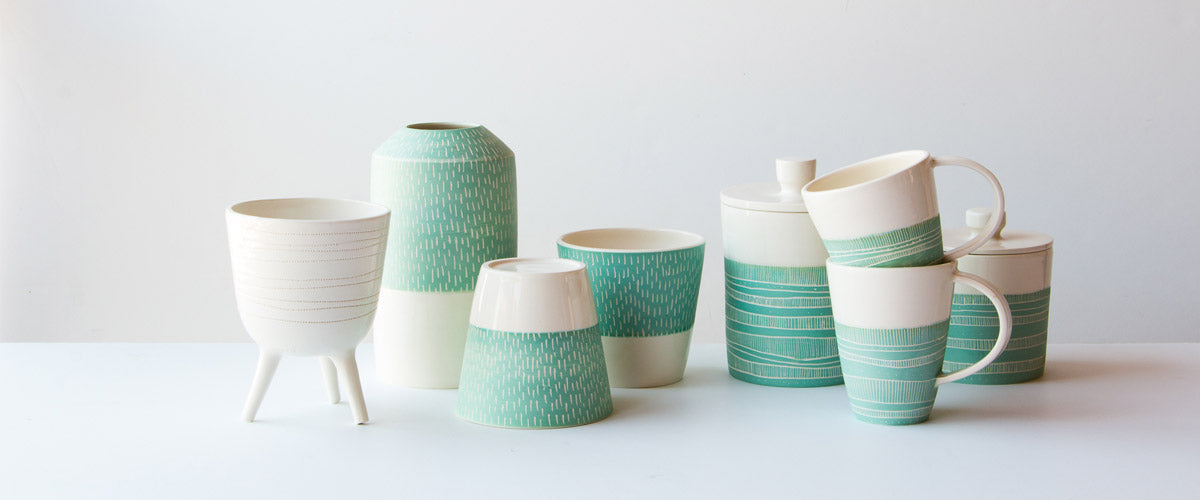 Browse a curated collection of bohemian and modern handmade ceramics and pottery items from Camille Trudel - Cam & Ceramique.