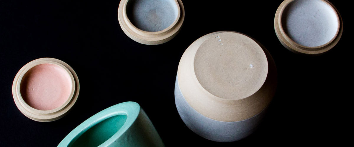 Browse a curated collection of contemporary and minimalist handmade ceramics from Mérida Anderson of YYY.