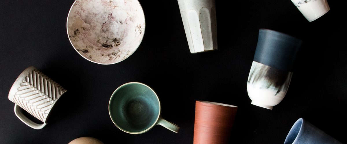 Discover our curated collection of modern pottery cups, coffee mugs and tumblers, handcrafted by independent designers and artisans.