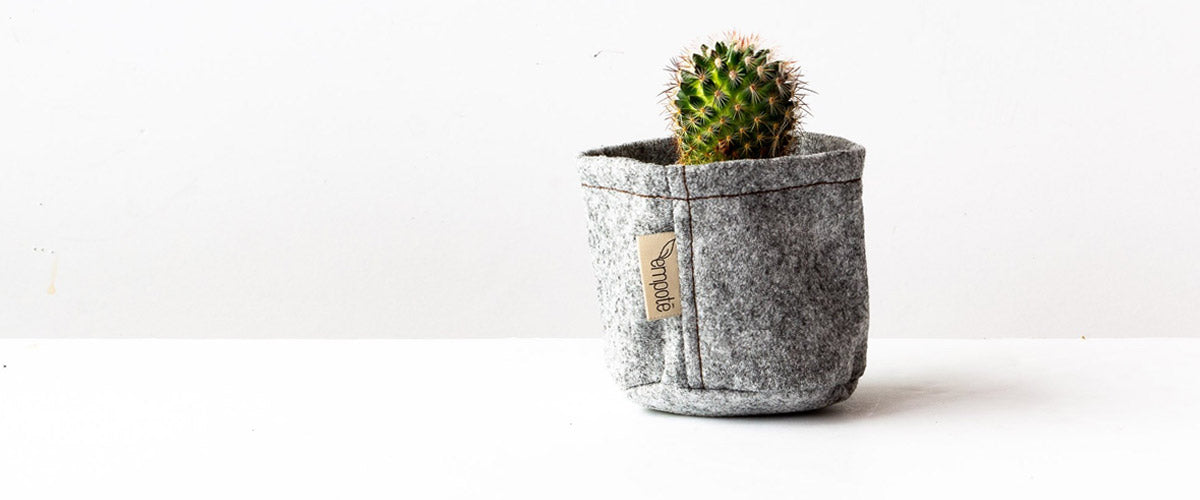 Empoté - Fabric Garden Pots for Urban Gardening