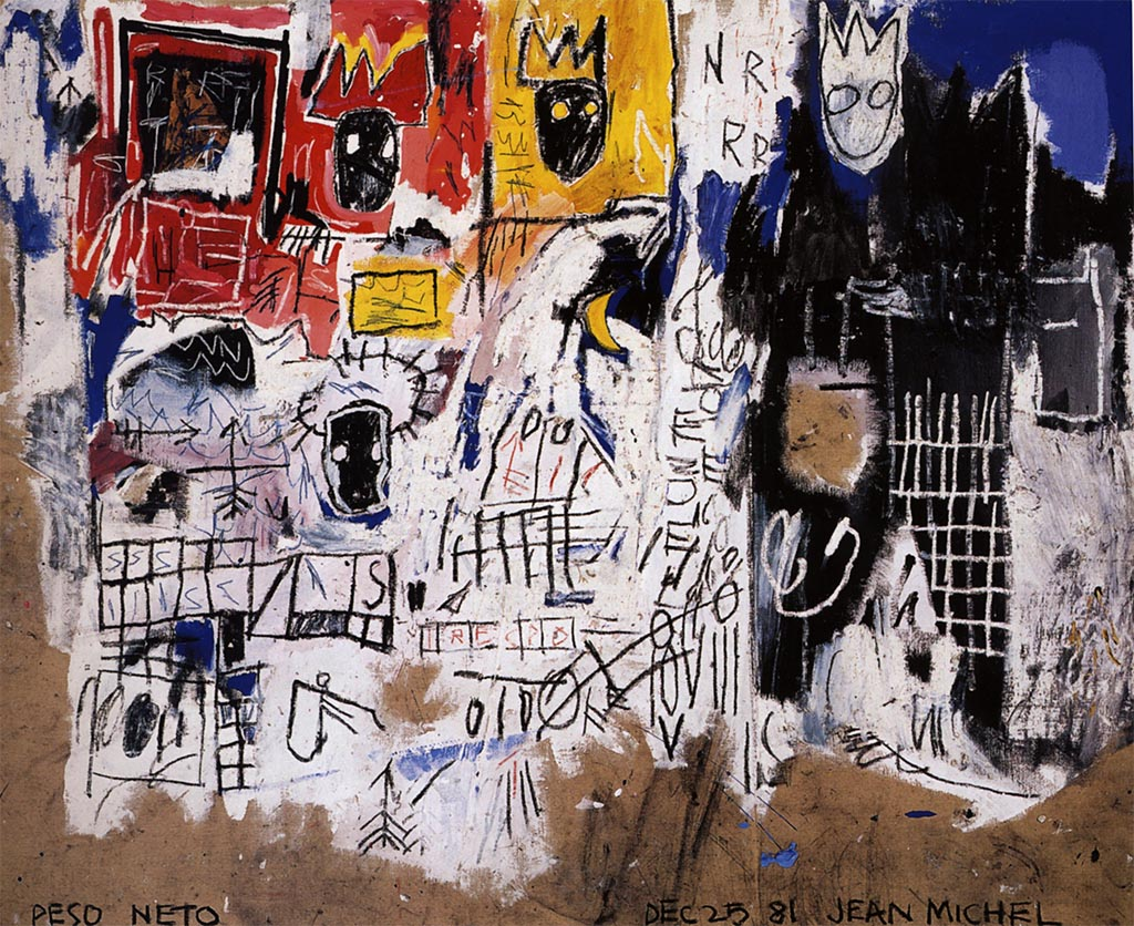 Net Weight - Jean-Michel Basquiat - 1981