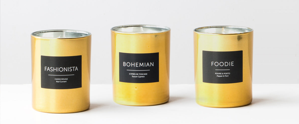 Les Citadines - Hand Poured High-end & Artisanal Perfumed Candles