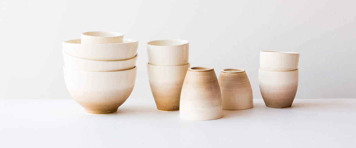Browse a curated collection of modern and contemporary handmade ceramics and pottery items from Marie-France Labrosse.
