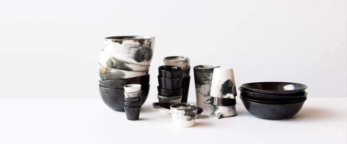 Browse a curated collection of the modern handmade ceramics and pottery items from Cora Kim - Mikaroc.
