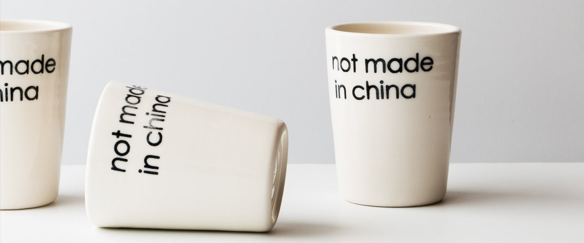 Not Made in China - Hugo Didier - Handmade Ceramics & Pottery Objects