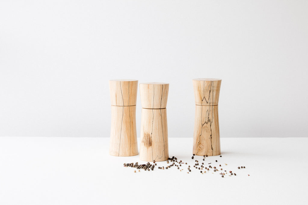Pierre Chayer - Spalted Maple Wood Spices & Pepper Mill
