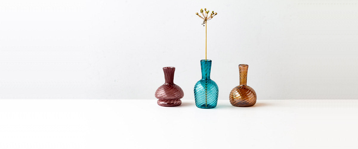 Tomy Tremblay - Contemporary Hand Blown Glassware