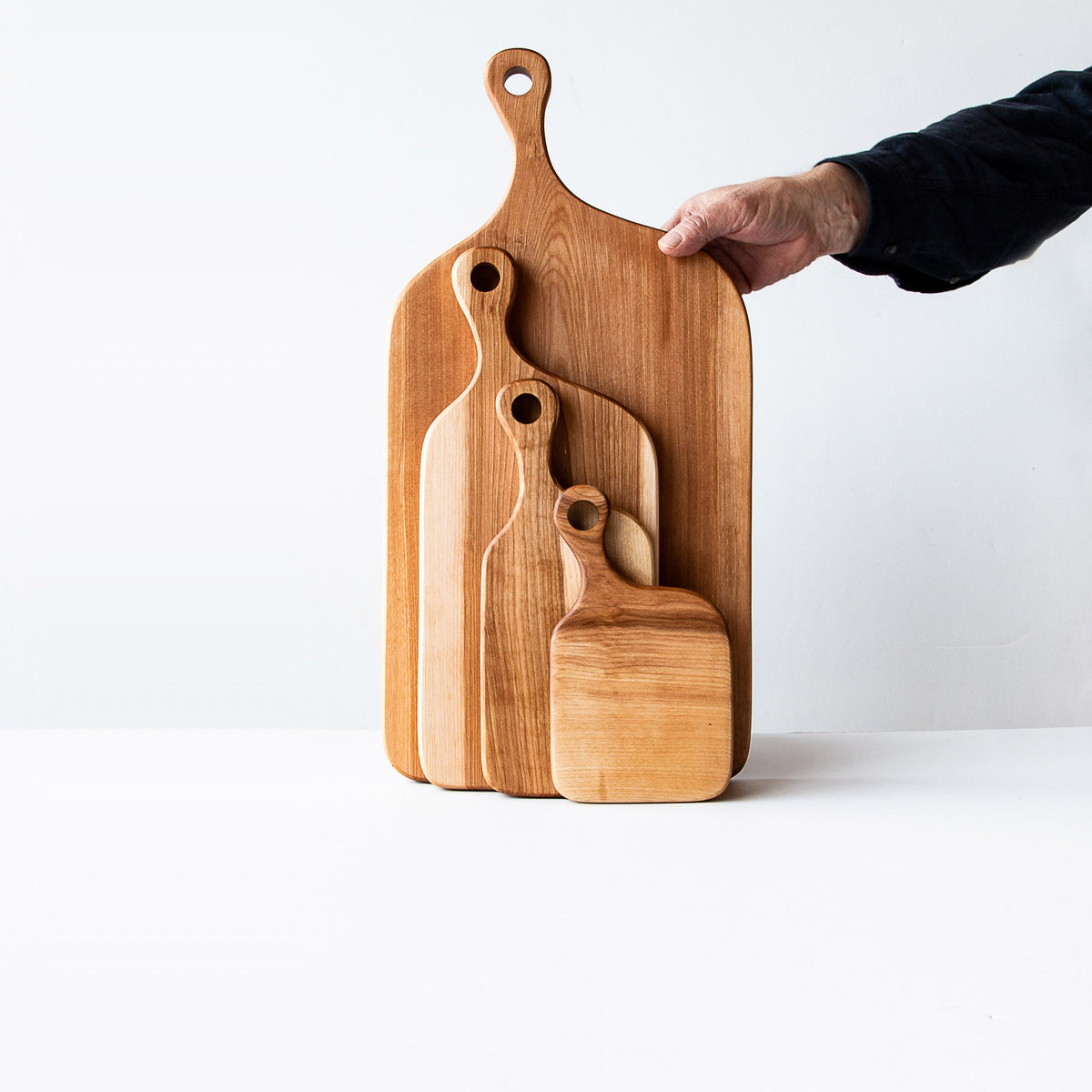 Service & Cutting Boards Collection in Birch - Sold by Chic & Basta
