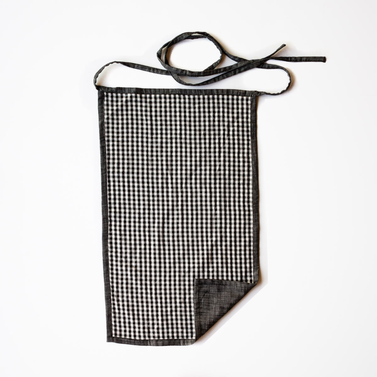 Top View - Reversible Dish Towel Apron - Handmade in 100% Cotton - Sold by Chic & Basta