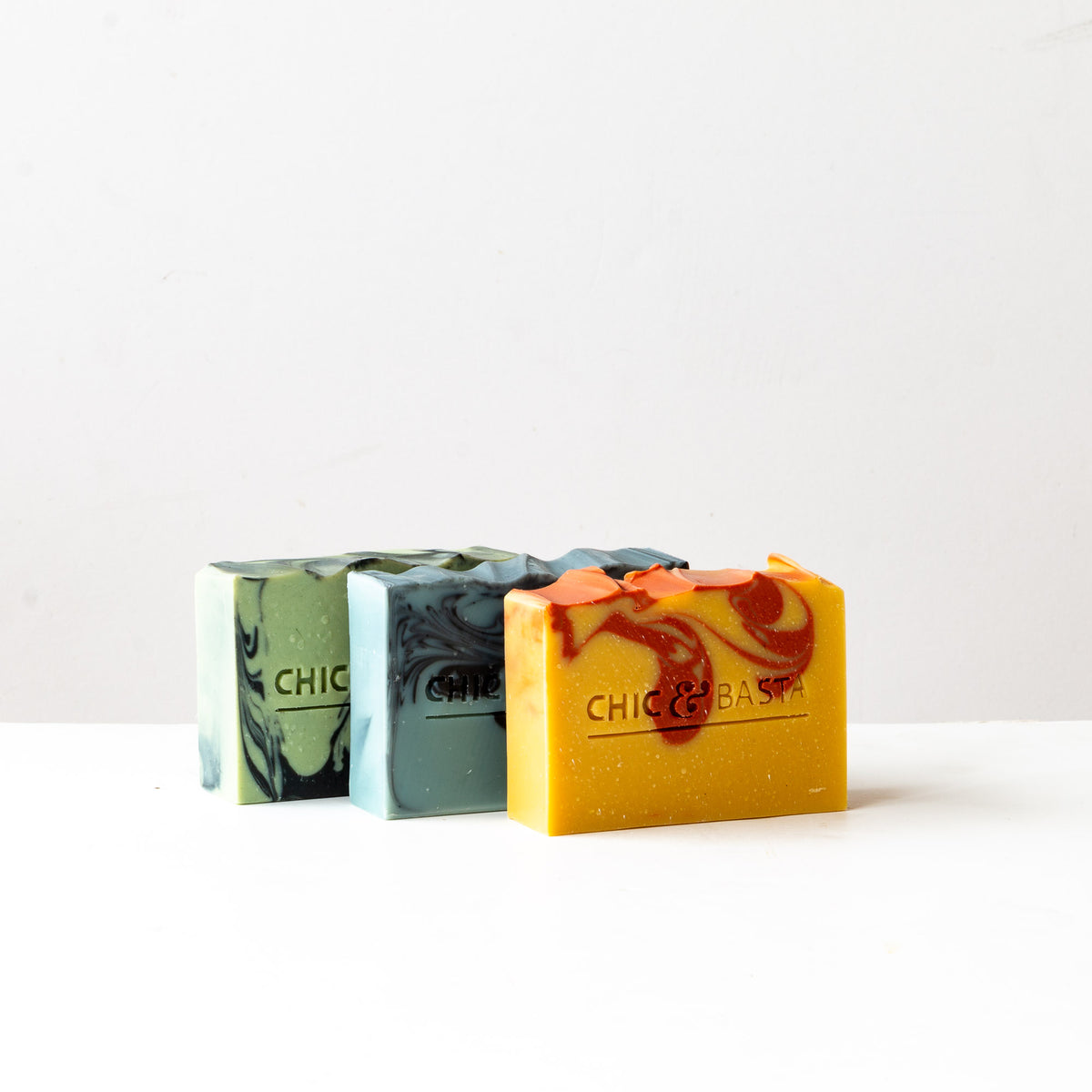 These soaps are the result of a collaboration with Amélie Roy of Ameoli.