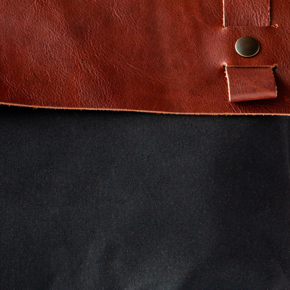 Andes - Brown Leather Handmade 15 Inch Laptop Backpack - Leather & Waxed Cotton - Sold by Chic & Basta