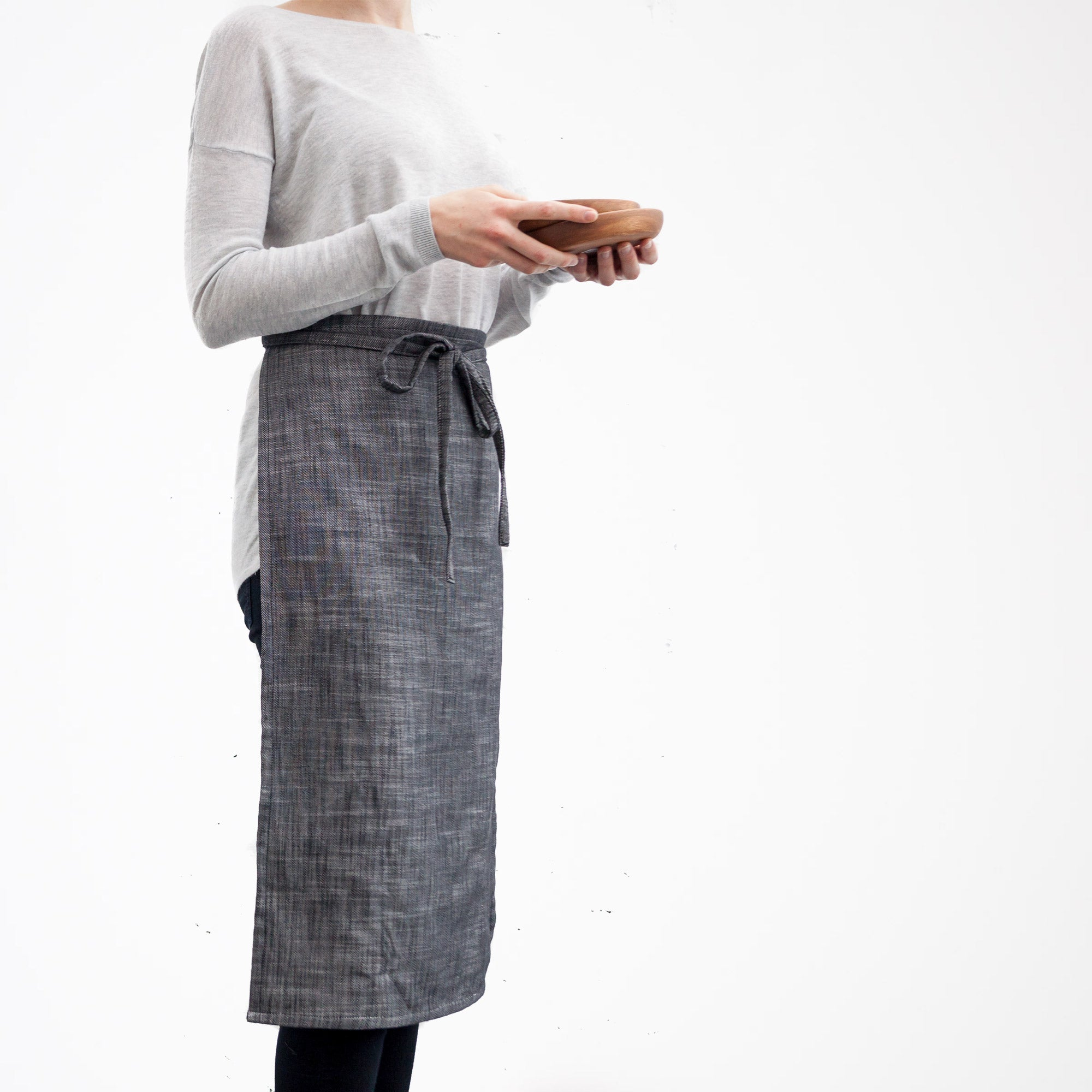Reversible Dish Towel Apron - Handmade in 100% Cotton - Sold by Chic & Basta