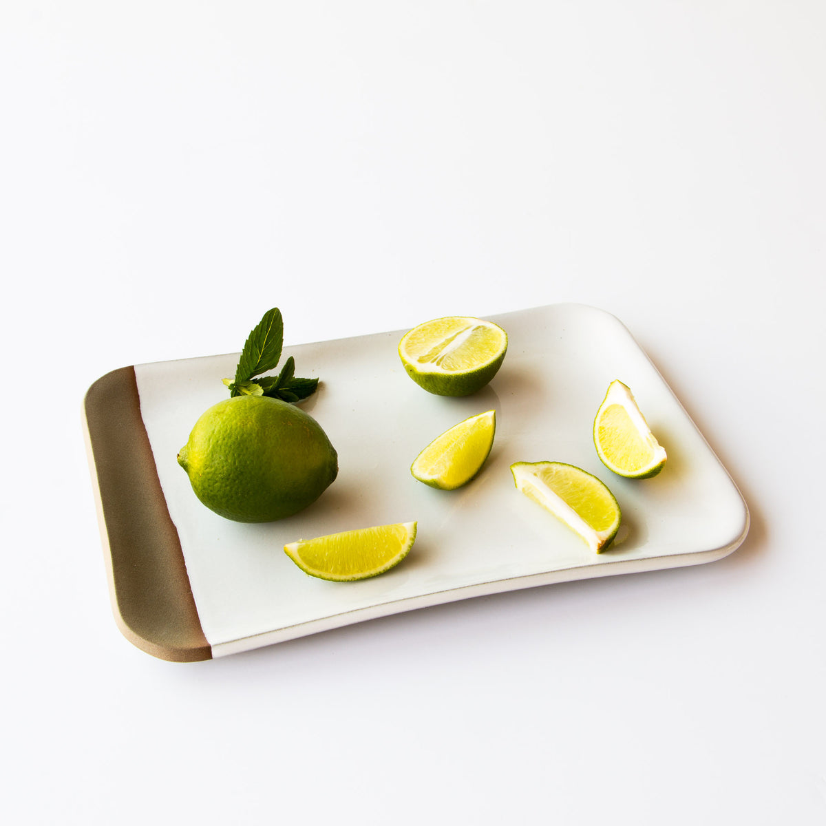 Lookbook - Handmade Ceramic Small Rectangular Serving Board - Chic & Basta