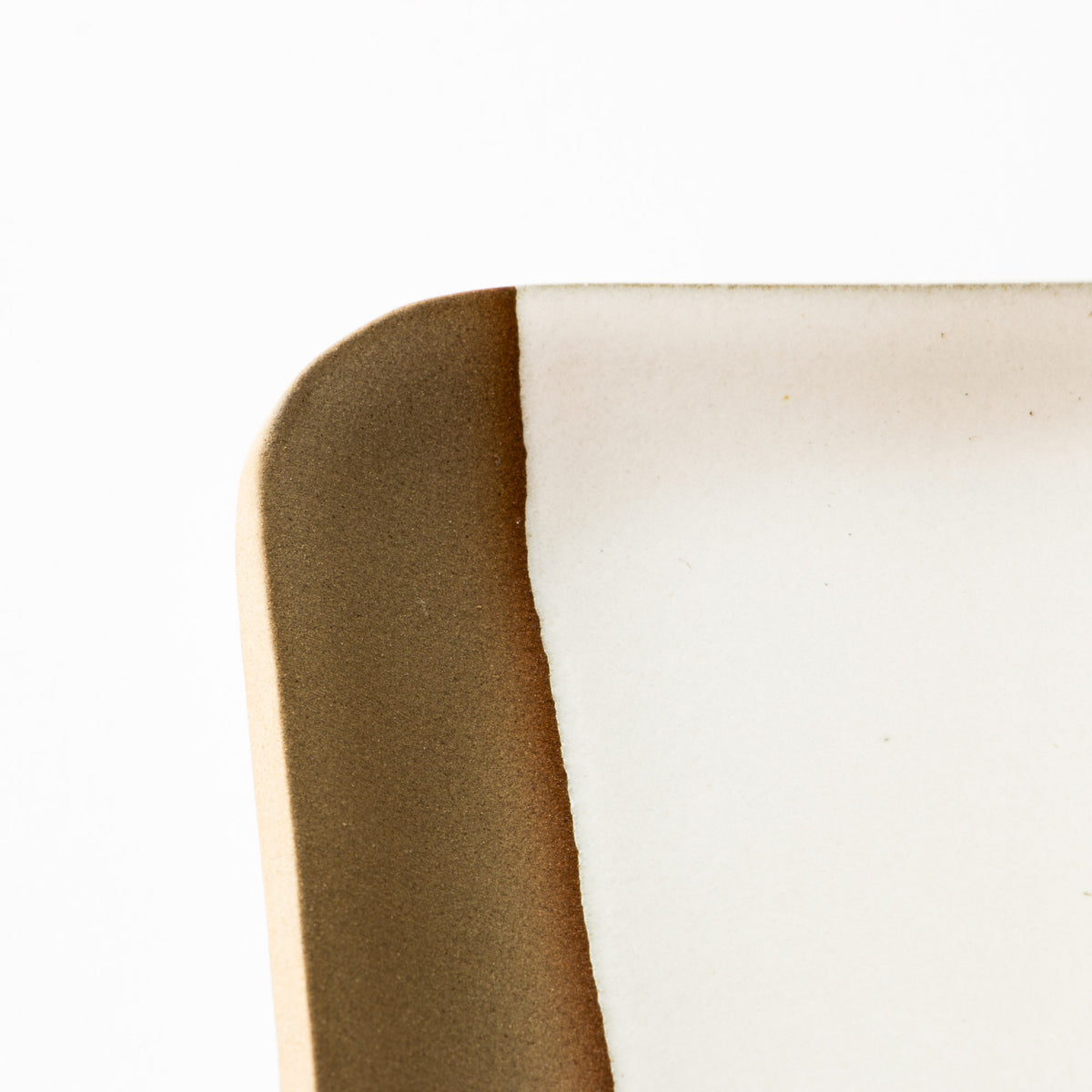 Detail - Handmade Ceramic Small Rectangular Serving Board - Chic & Basta