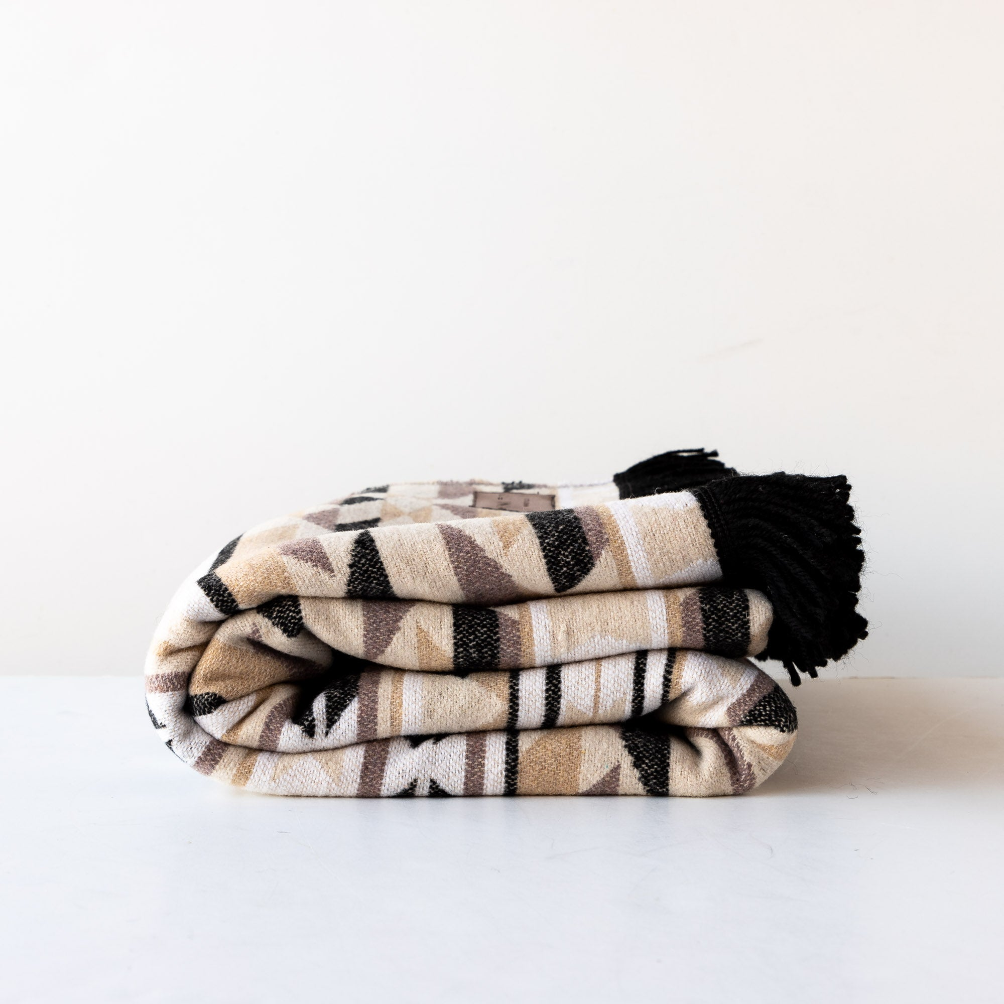 Birch - Native Motif Boho Wool Blanket / Throw - Sold by CGic & Basta