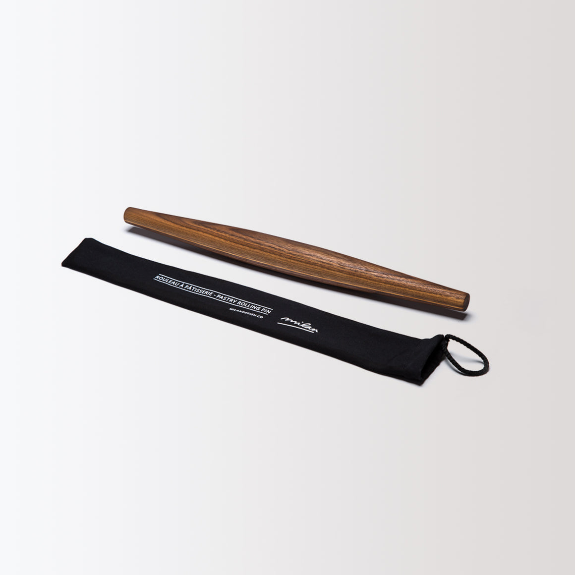 Black Walnut & Maple Rolling Pin - Sold by Chic & Basta