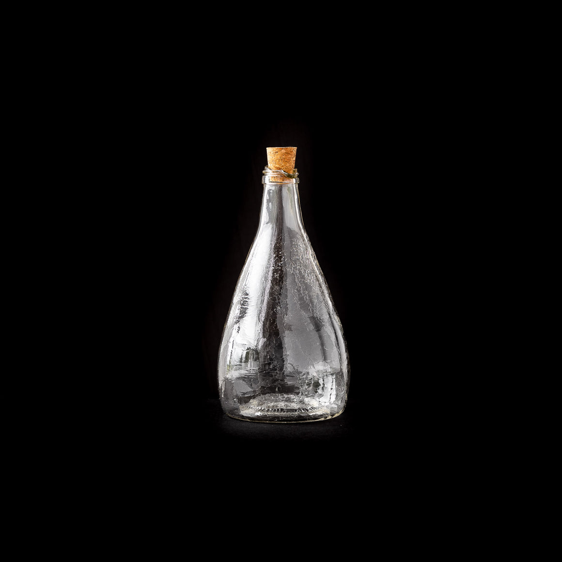 Blown Glass Maple Syrup Bottle - Latté Texture - Sold by Chic & Basta