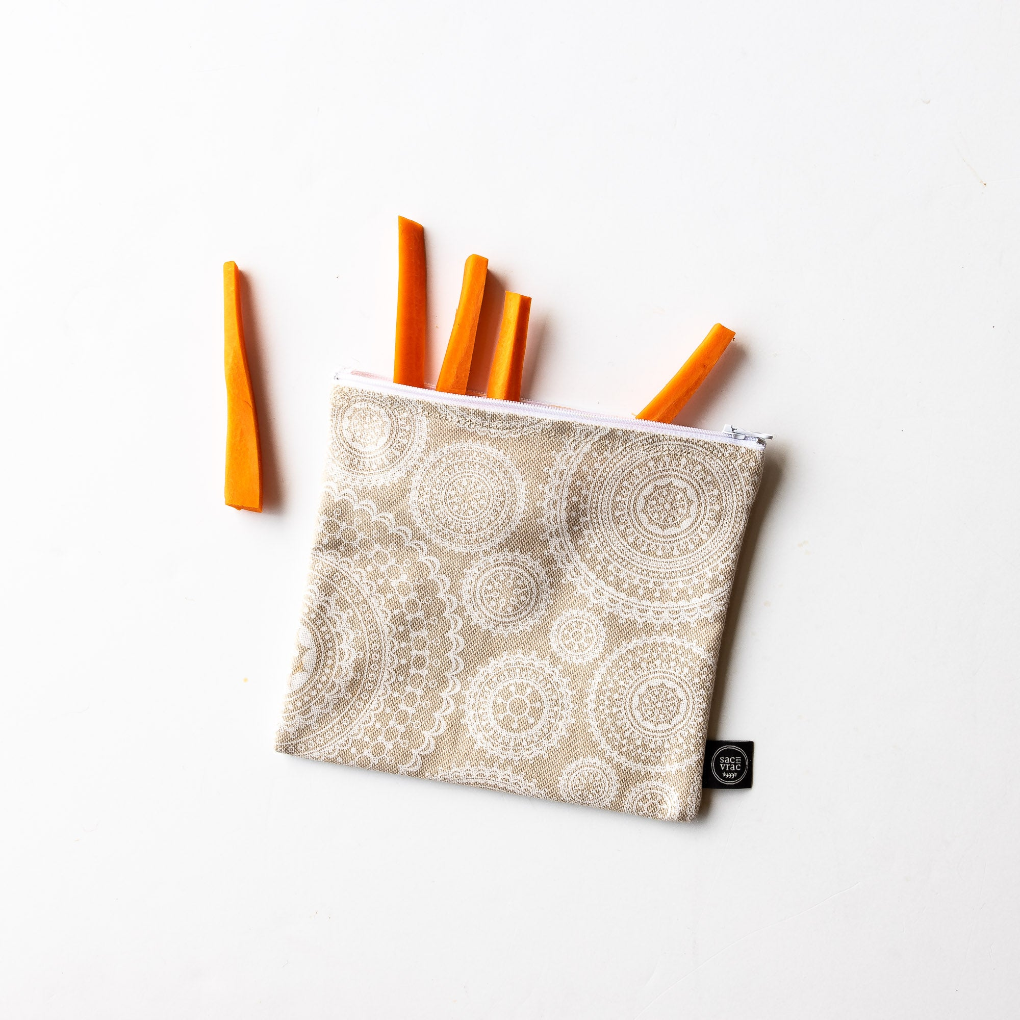 Reusable Sandwich / Snack Bag - Sold by Chic & Basta