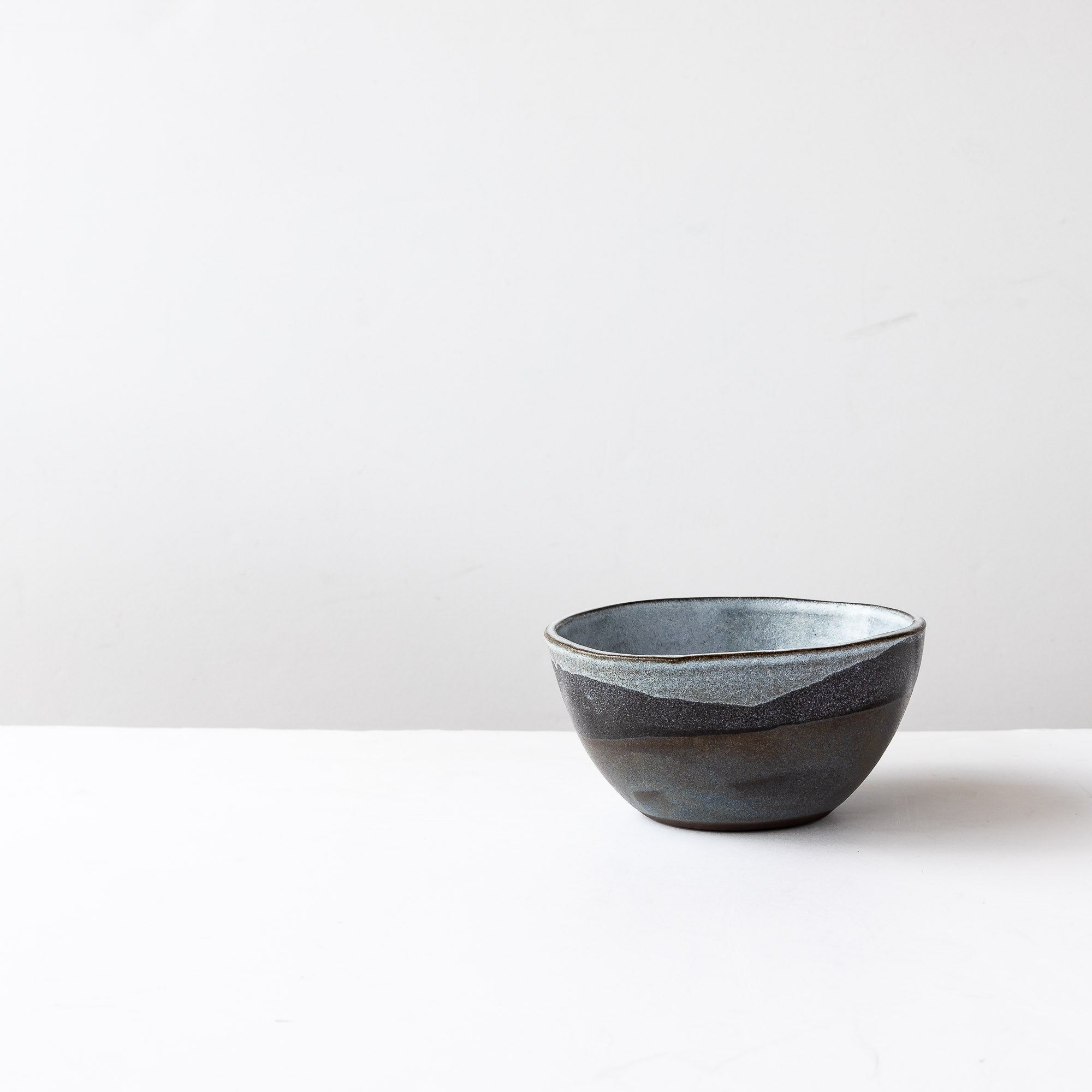 Handmade Stoneware Breakfast Bowl - Mountain Collection - Sold by Chic & Basta