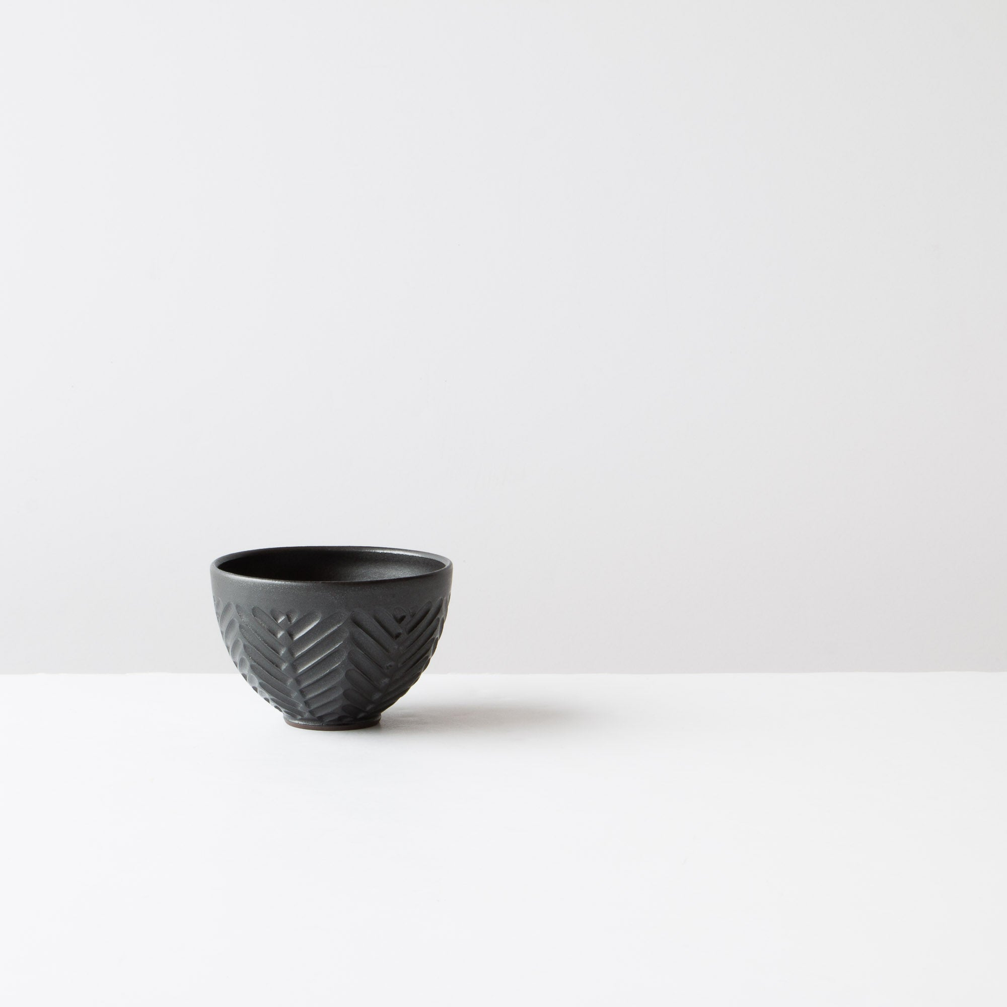 Black - Handmade Ceramic Cappuccino Coffee Cup - Sold by Chic & Basta