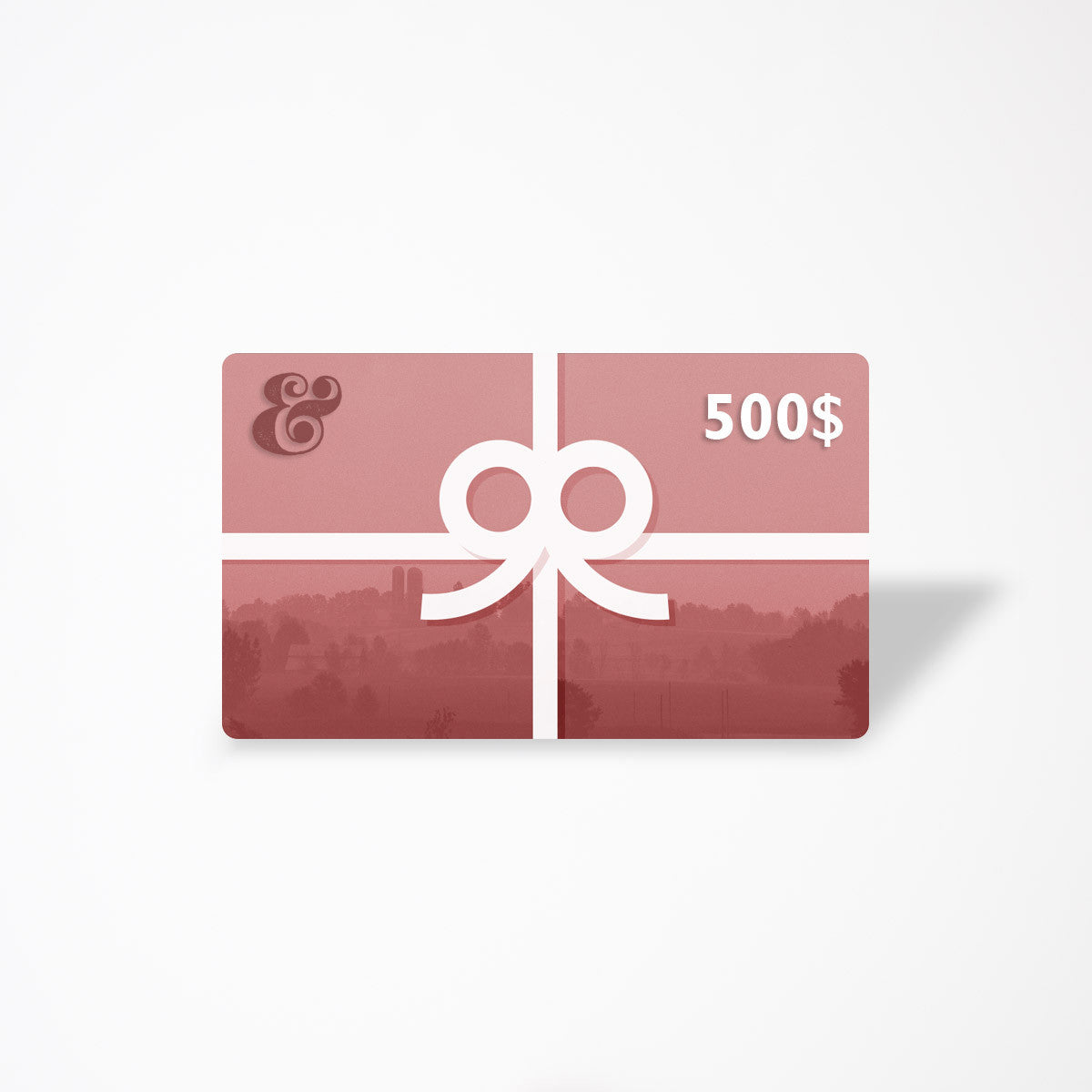 $500 eGift Card - Contemporary Designers, Makers & Artisans From Quebec - Chic & Bast5