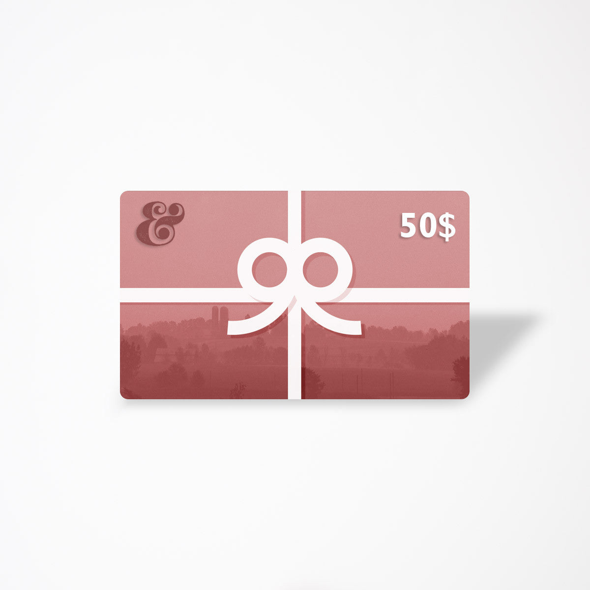 $50 eGift Card - Contemporary Designers, Makers & Artisans From Quebec - Chic & Basta