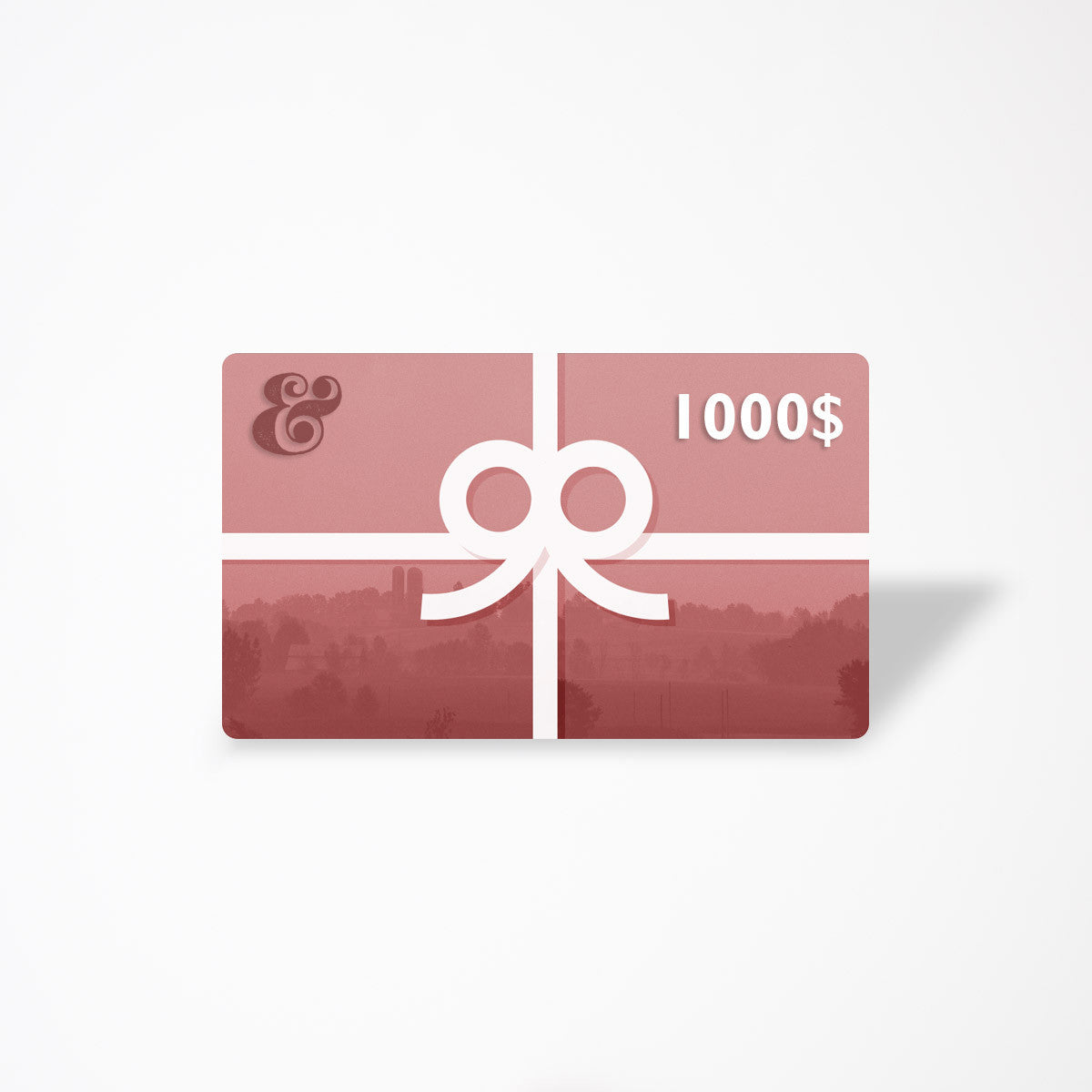 $1000 eGift Card - Contemporary Designers, Makers & Artisans From Quebec - Chic & Basta