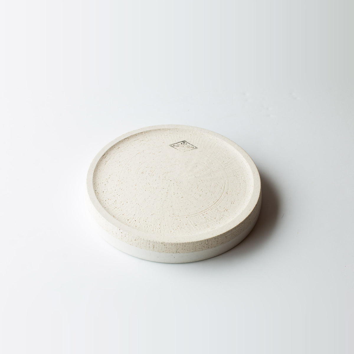 Bottom View - Ceramic Handcrafted Round Oven Dish / Baking Dish - Sold by Chic & Basta