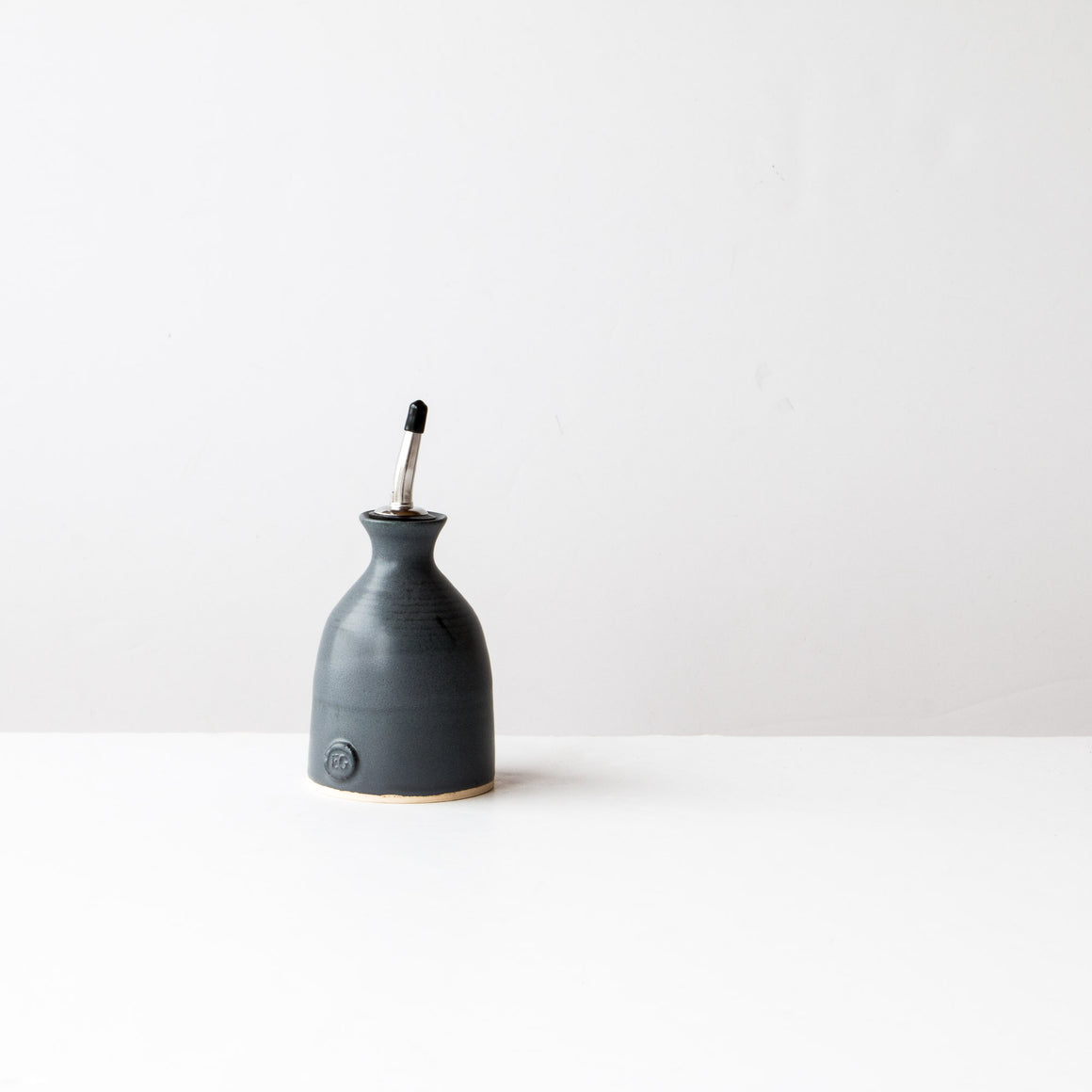 Charcoal Grey Little Oil Cruet