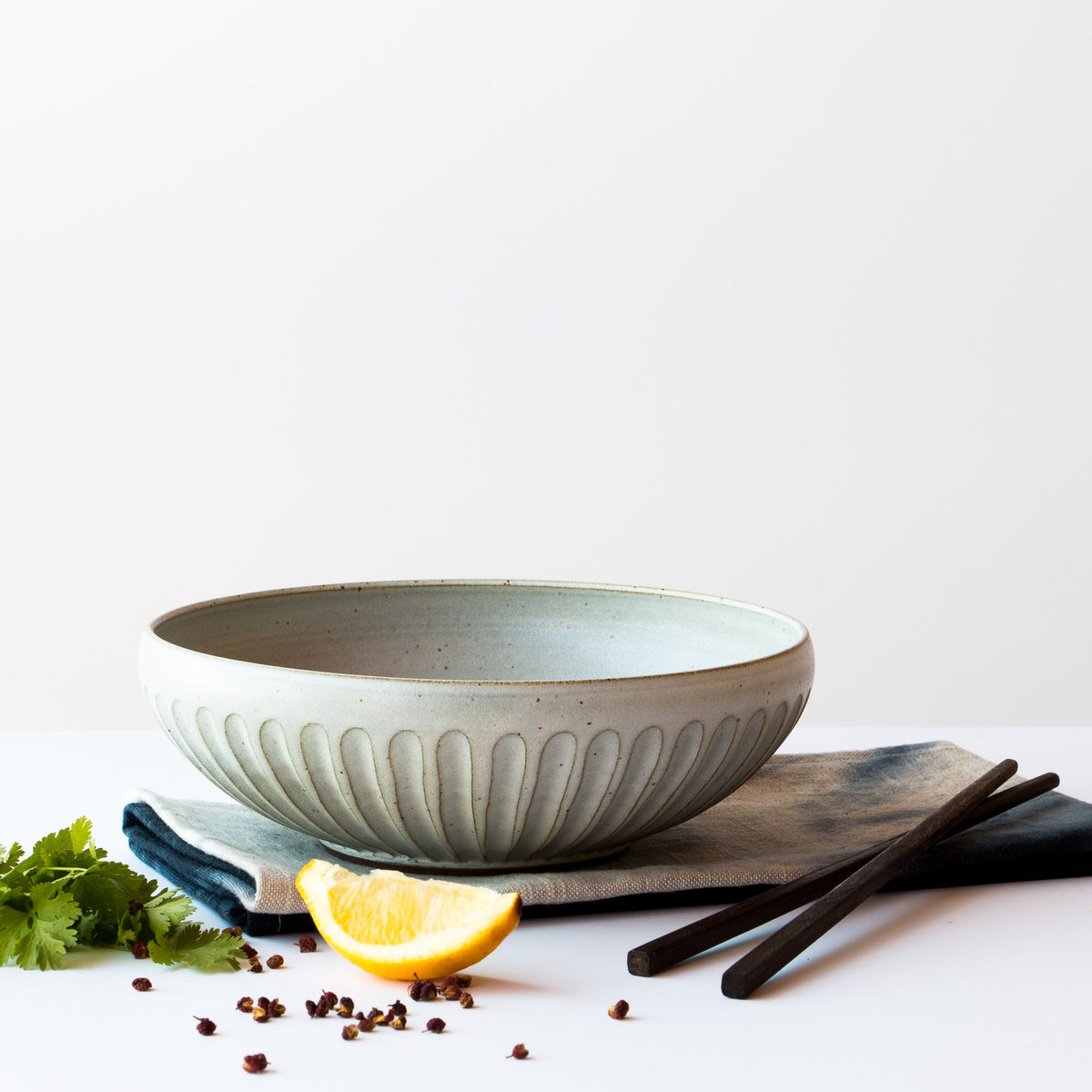 Lookbook - Handmade Contemporary Ceramic Bowl - Hand Thrown in Canada - Chic & Basta