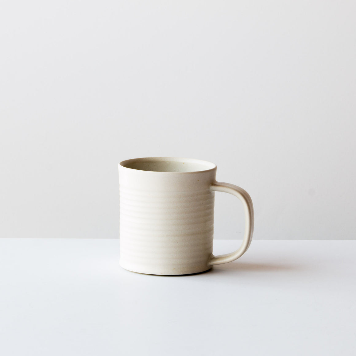 Hand Thrown Ceramic Coffee Mug / Cup - Black Colour - Sold by Chic & Basta