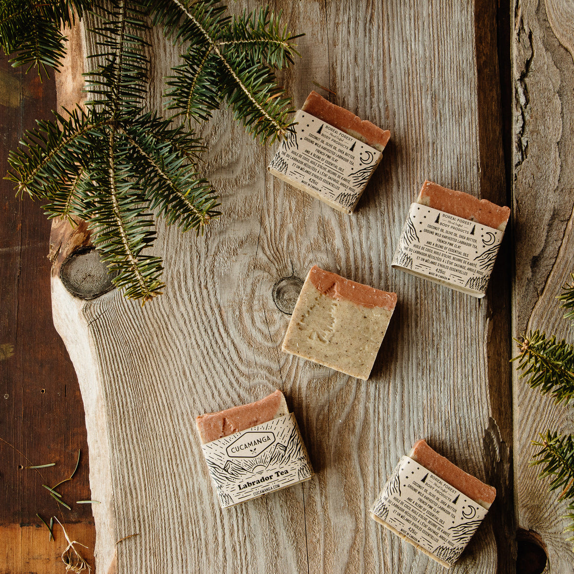 Labrador Tea: Boreal Forest Hand Crafted Soap