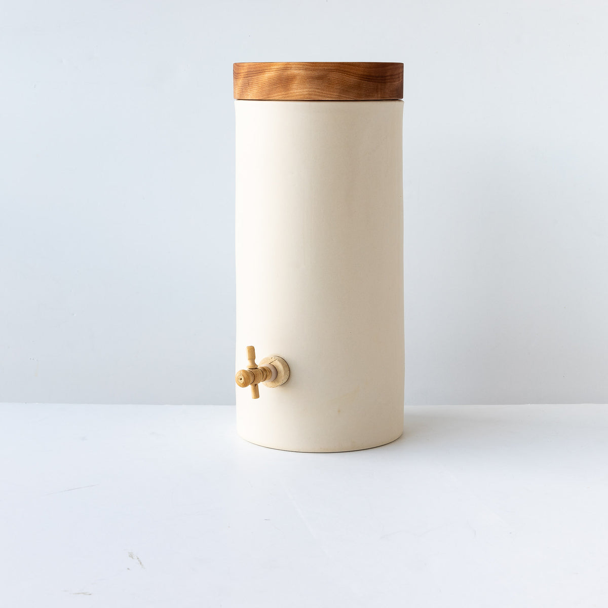First Fermentation Jar in Stoneware - 6 Liters - Handmade - Sold by Chic & Basta