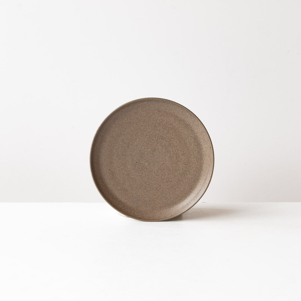 Matte Black - Handmade Grey Stoneware Small Plate - Sold by Chic & Basta