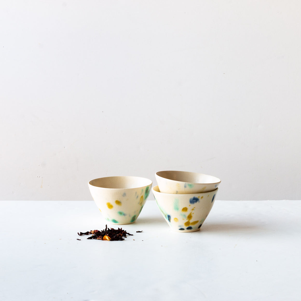 Hanabira - Handmade Small Ceramic Teacup - Sold by Chic & Basta