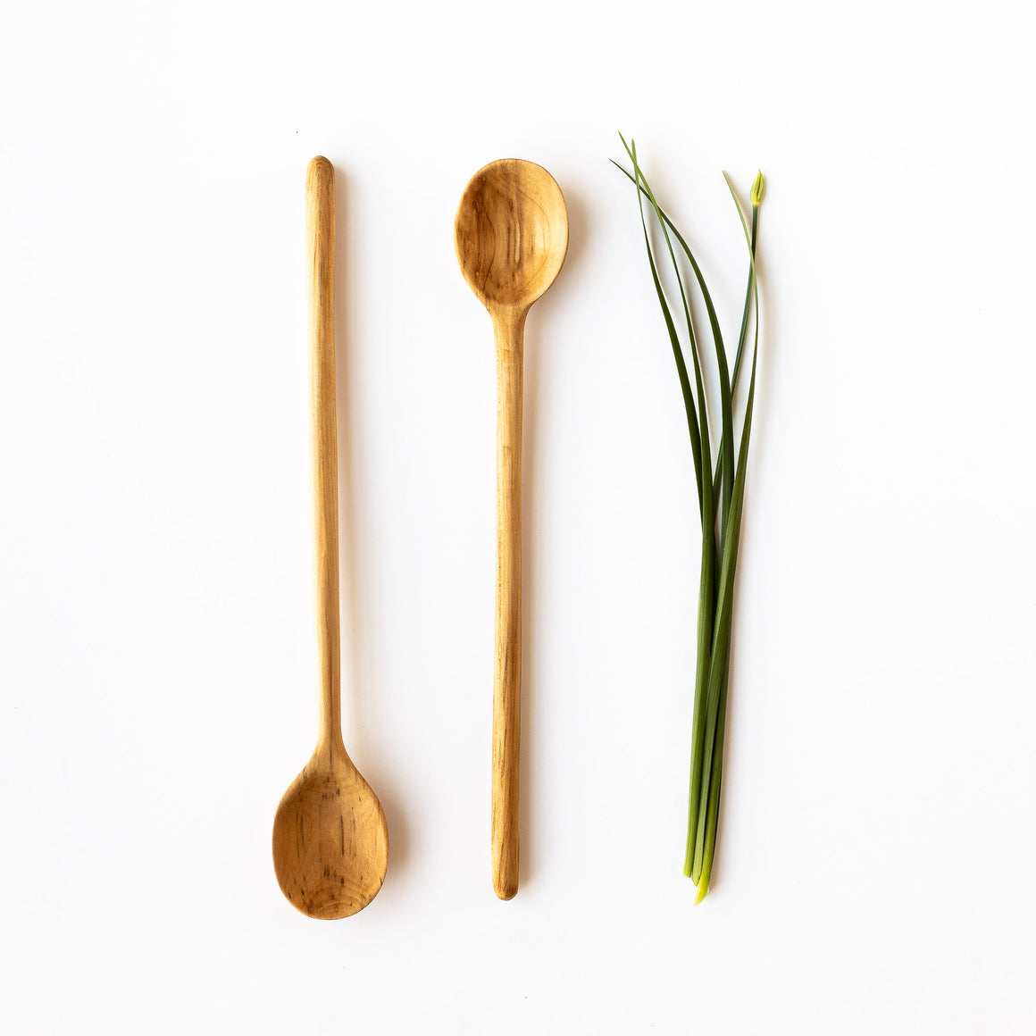 Hand-carved Basswood Cooking Spoon - Sold by Chic & Basta