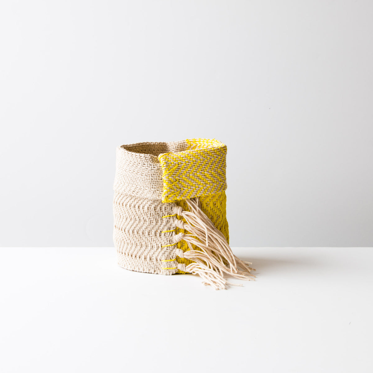 Hemp Table Basket (Small)