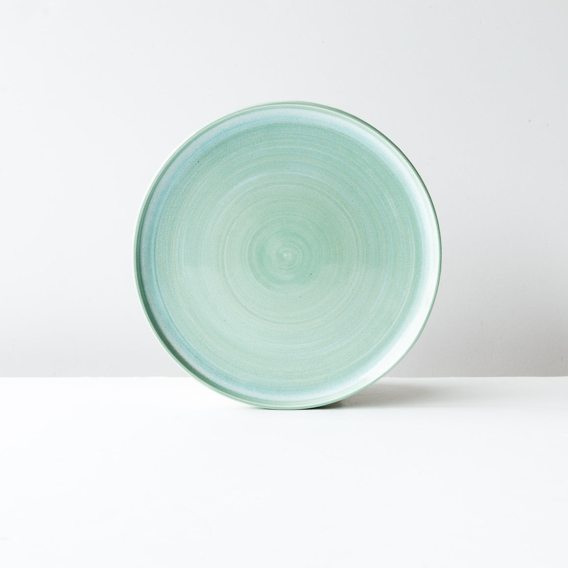 Aqua Porcelain 4-Piece Dinnerware Set _Sold by Chic & Basta
