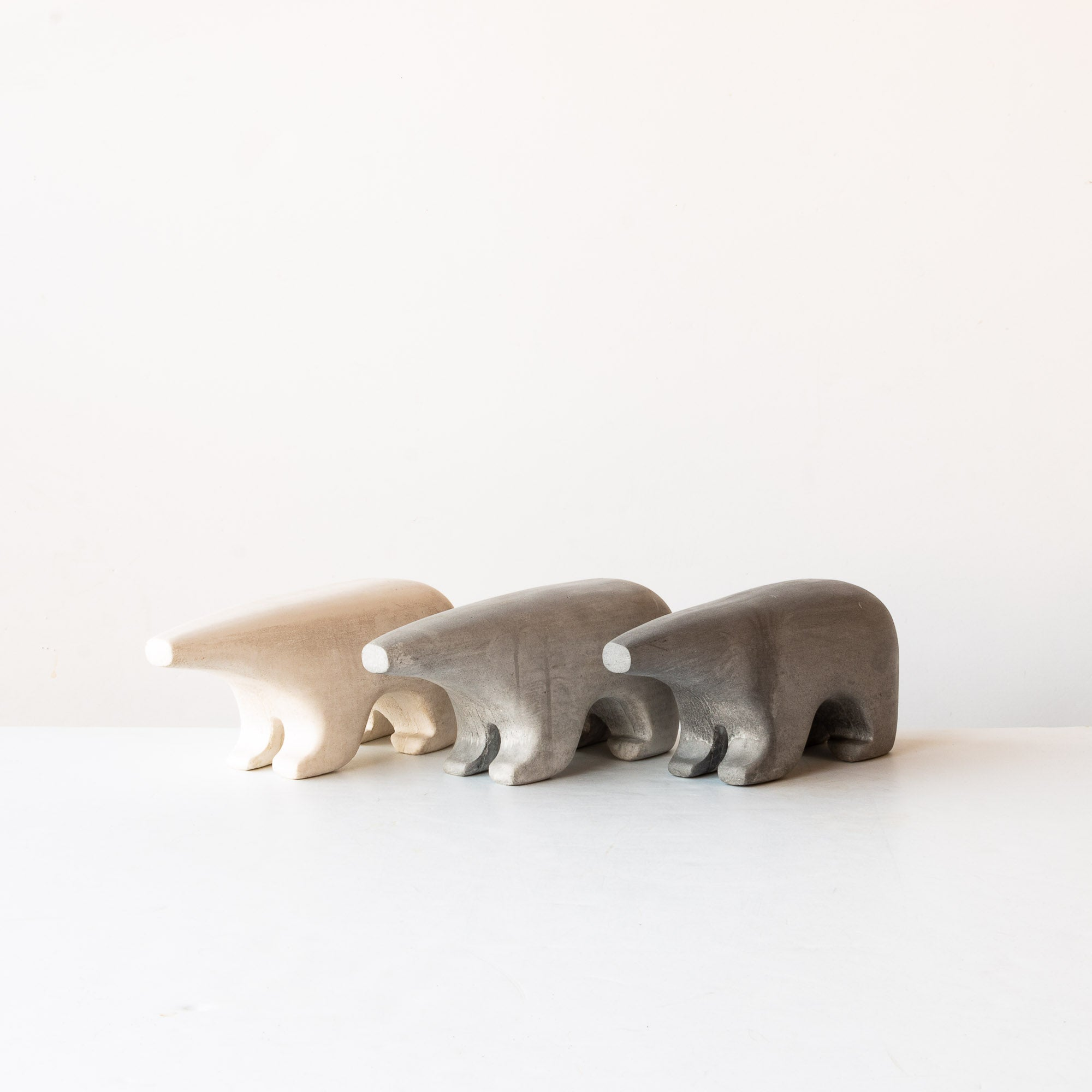 Three Bears - Bookend / Sculpture - Sold by Chic & Basta