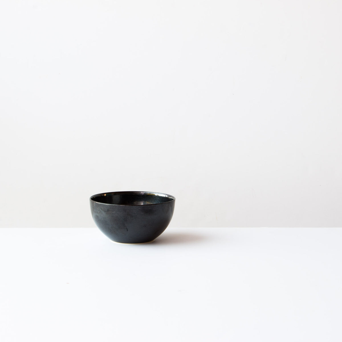 Handmade Porcelain Rice Bowl - Black Porcelain - Sold by Chic & Basta