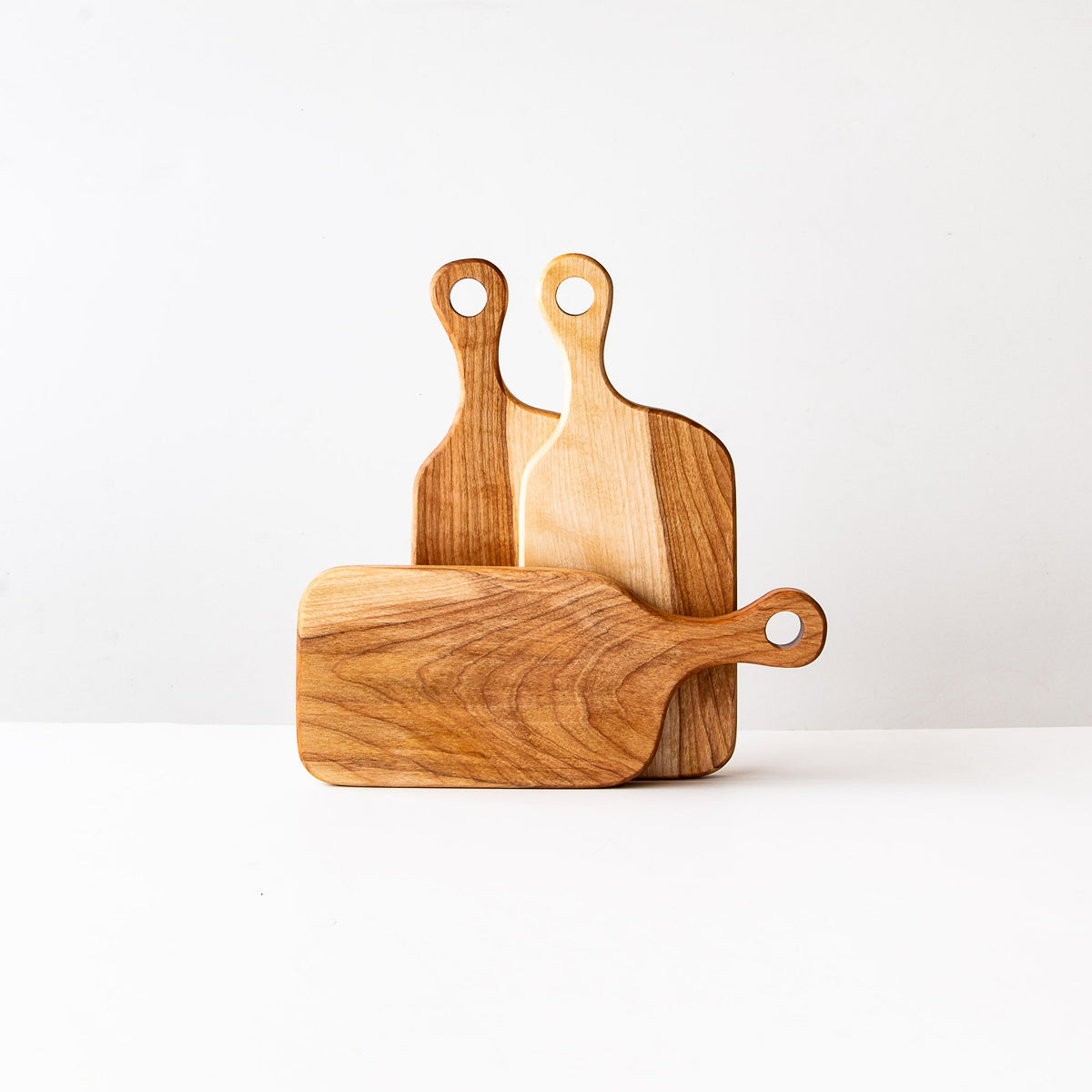 Muskoka N°1 - Three Wooden Cutting Boards in Birch - Sold by Chic & Basta