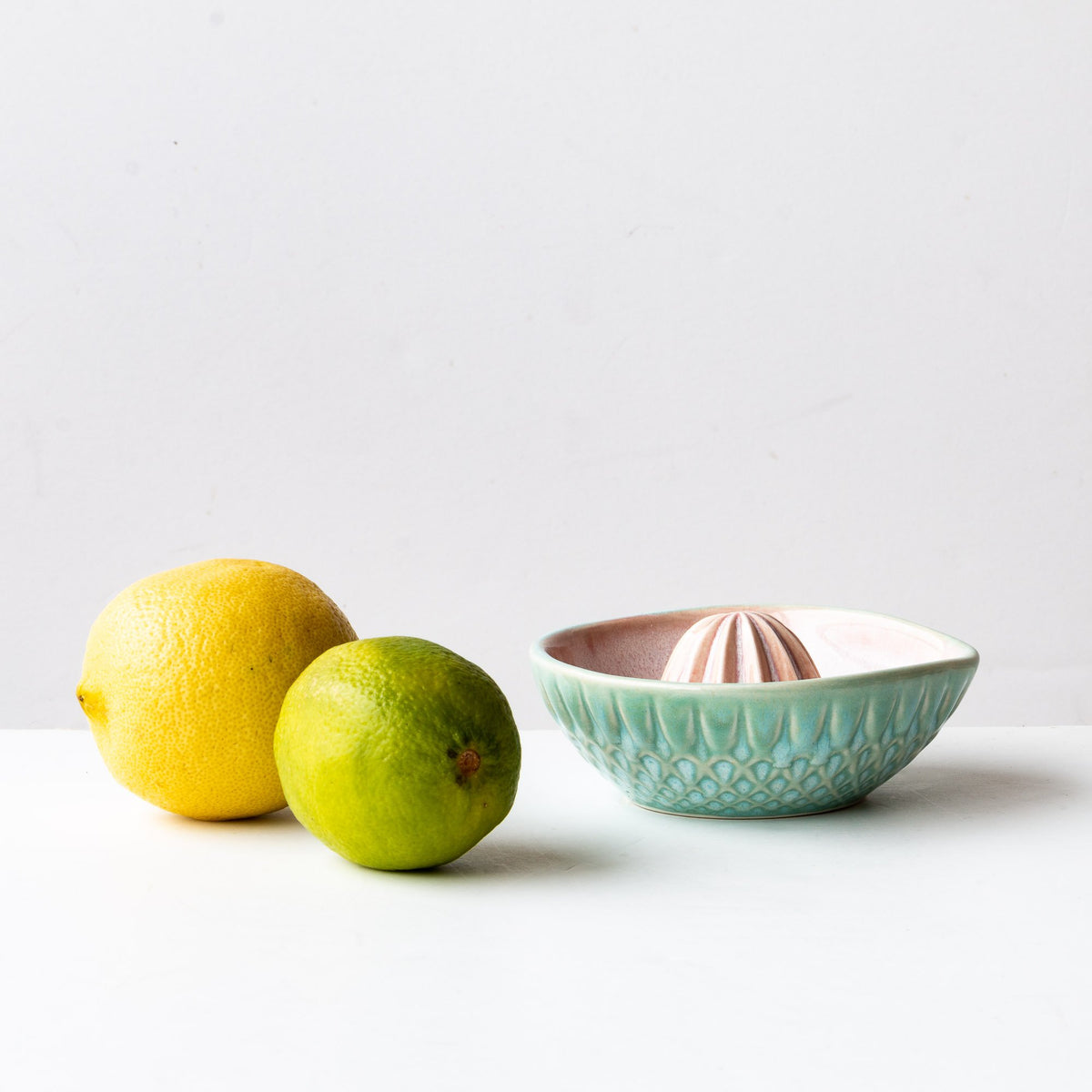 Watercolour Handcrafted Small Porcelain Citrus Juicer - Sold by Chic & Basta