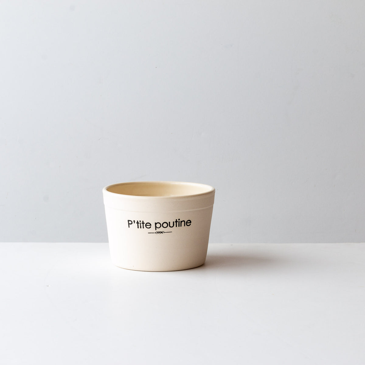 "Handmade Porcelain Bowl - ""Petite Poutine"" - Sold by Chic & Basta"