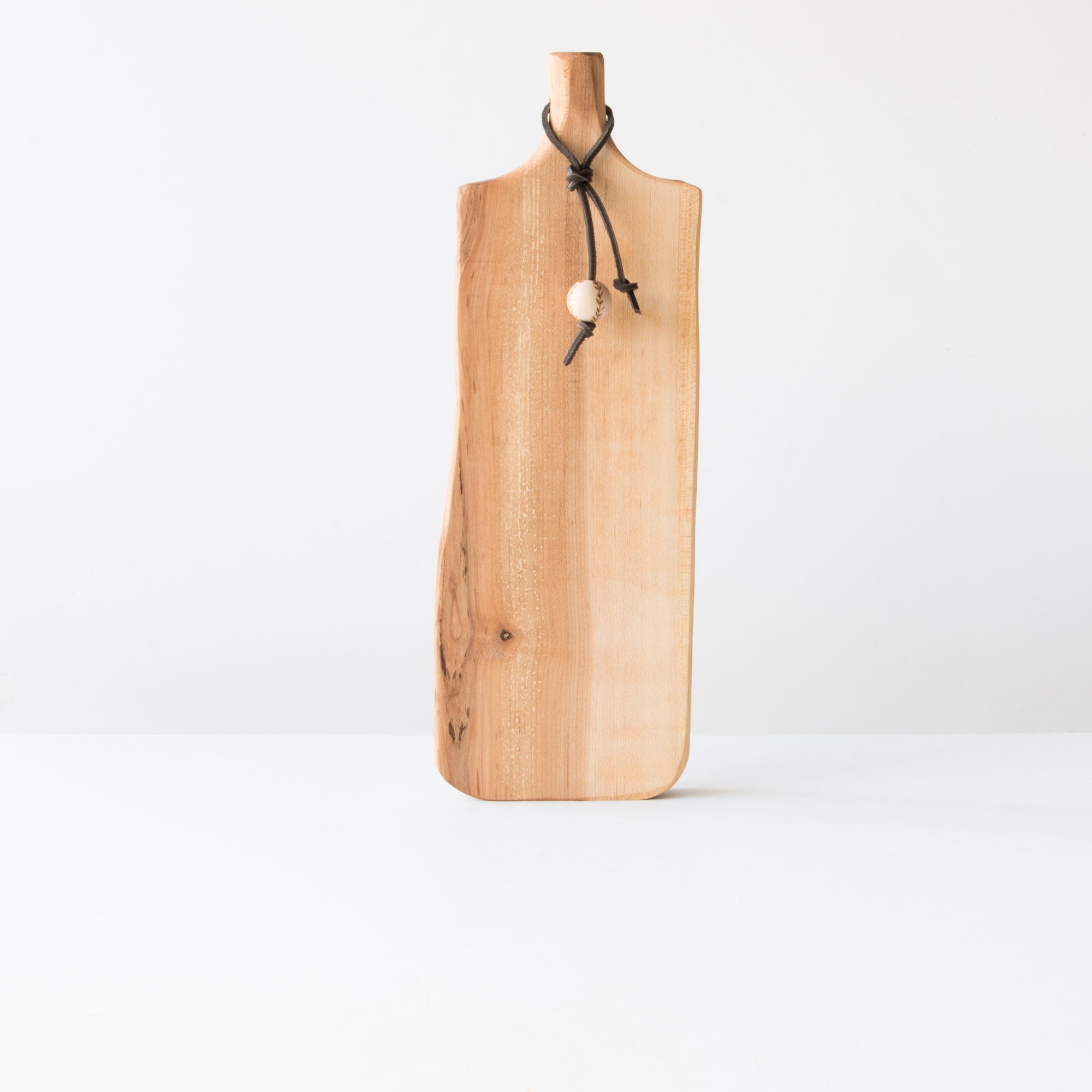 Handmade Bread Cutting Board in Reclaimed Maple Wood - Sold by Chic & Basta