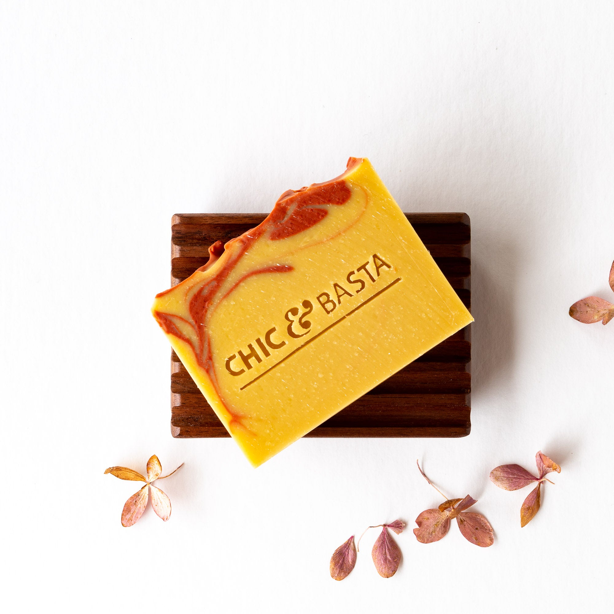 Handcrafted Refreshing Soap With Goat's Milk & Grapefruit - Sold by Chic & Basta