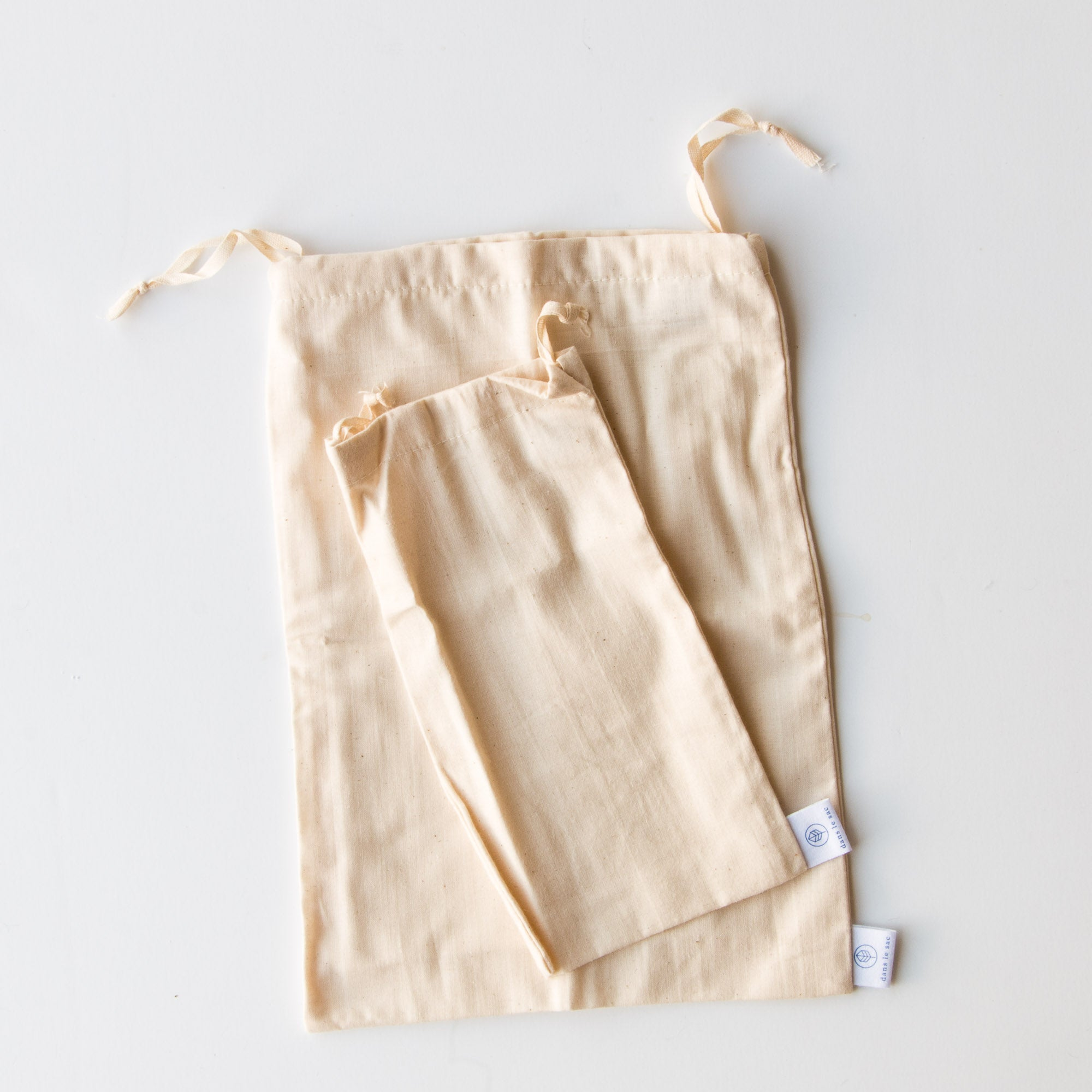 Large Bulk Bag - 100% Cotton Reusable Produce & Bulk Bags - Sold by Chic & Basta