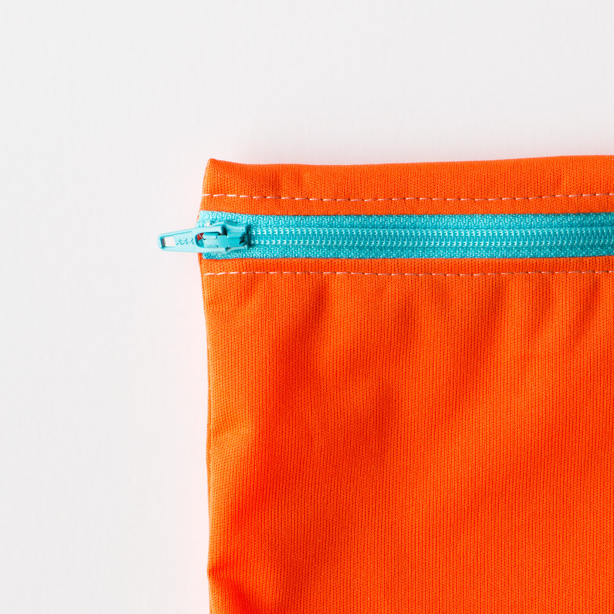 Orange Reusable Snack & Sandwich Bag - Food Safe & Eco-friendly - Sold by Chic & Basta