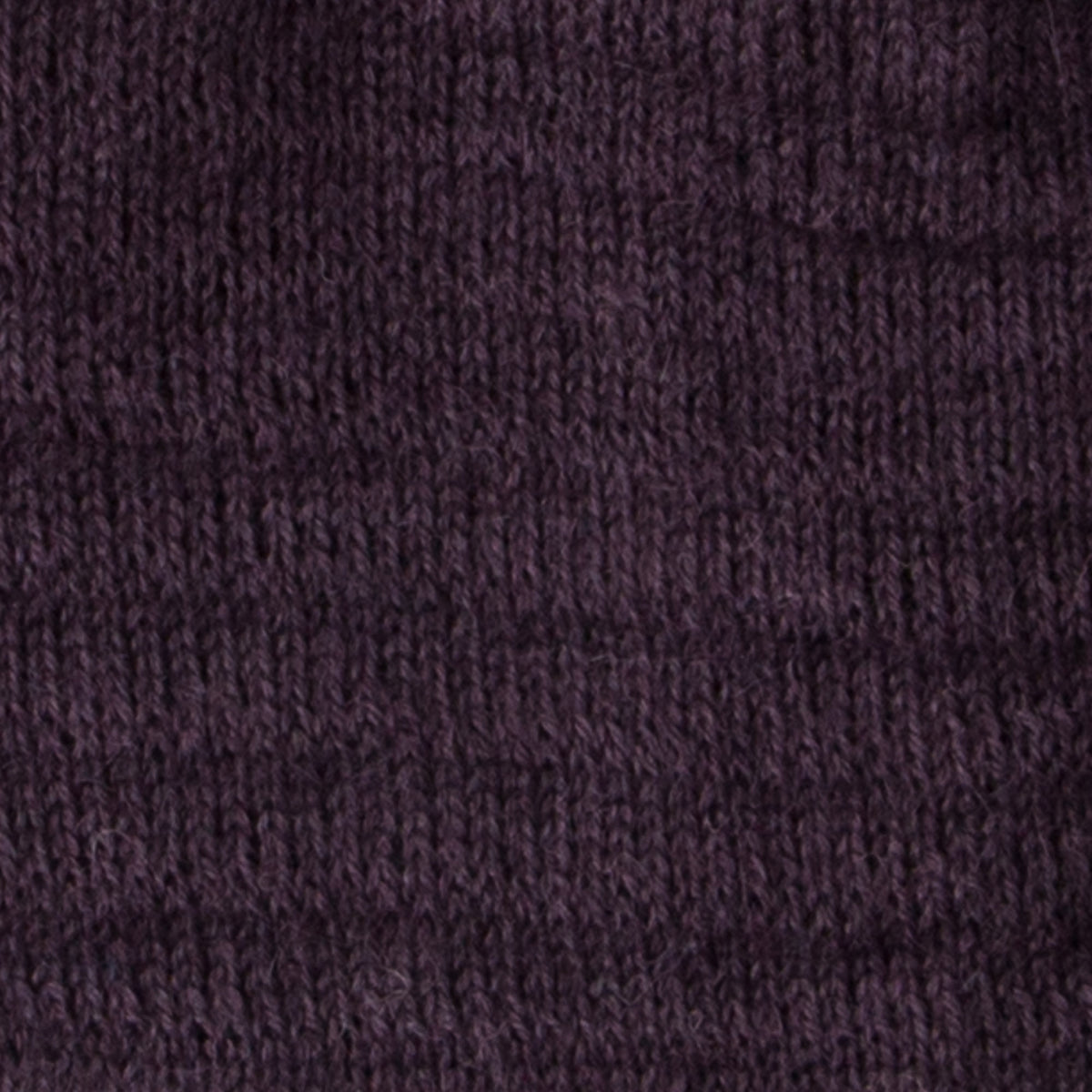 Texture Detail of Eggplant Slouchy Beanie in 100% Baby Alpaca Fiber - Sold by Chic & Basta